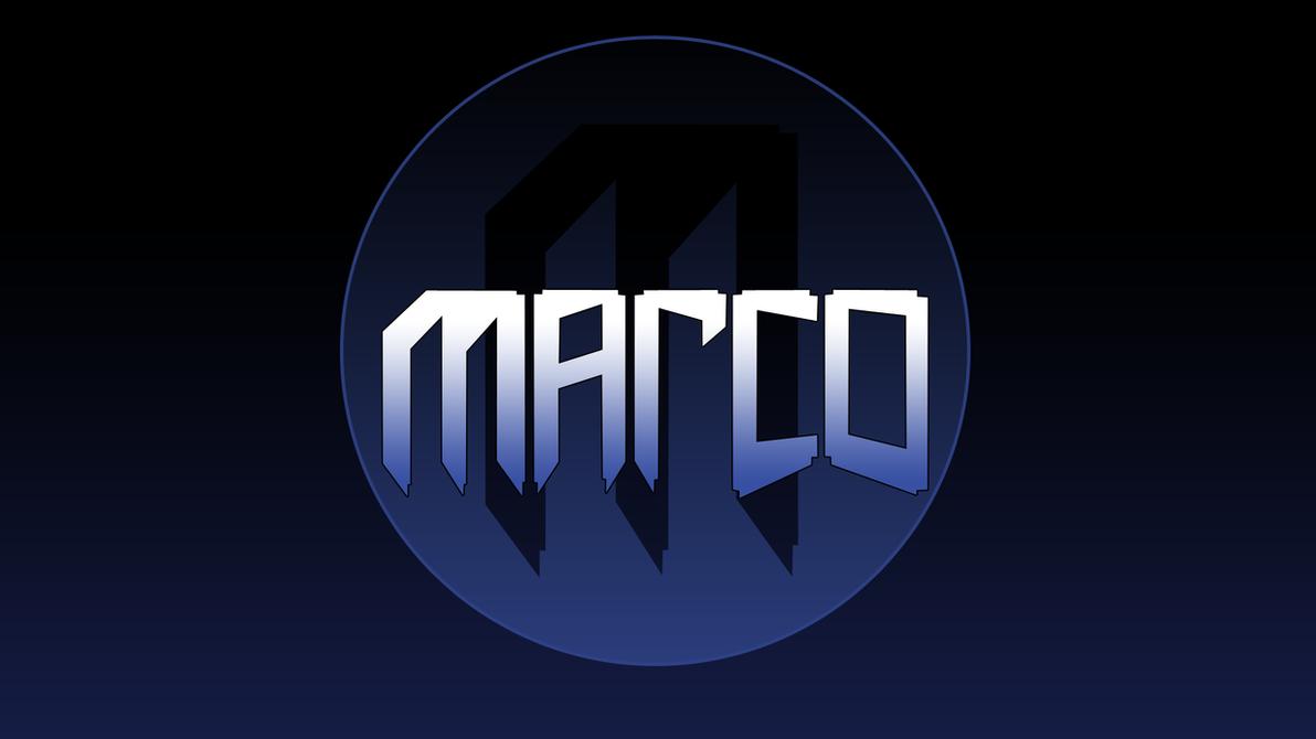 Marco Logo Wallpaper by PercentageOfTwenty on DeviantArt