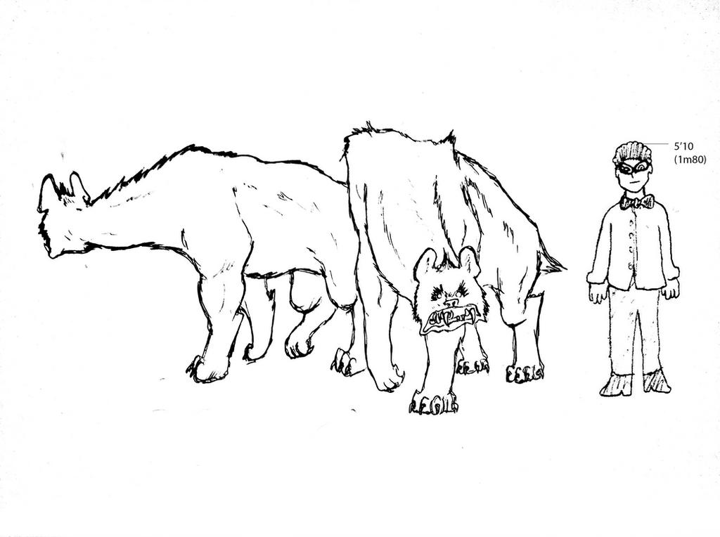 Apex Hyena of Eoxenocene ! by Brobar