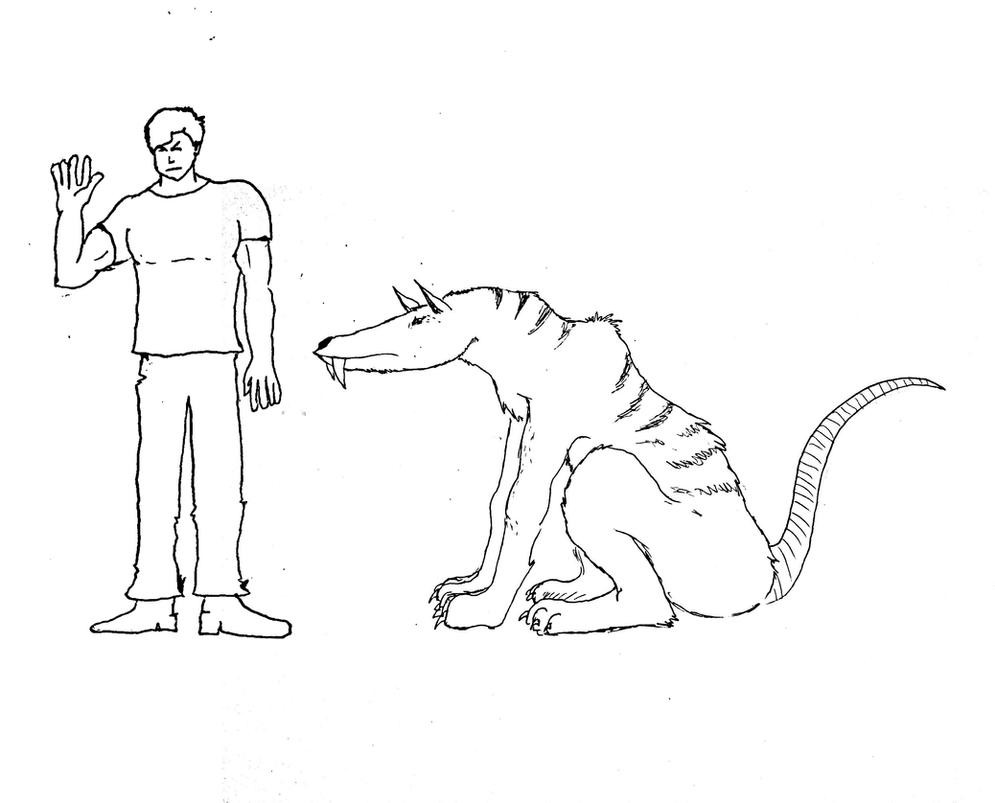Saber-rat ! by Brobar