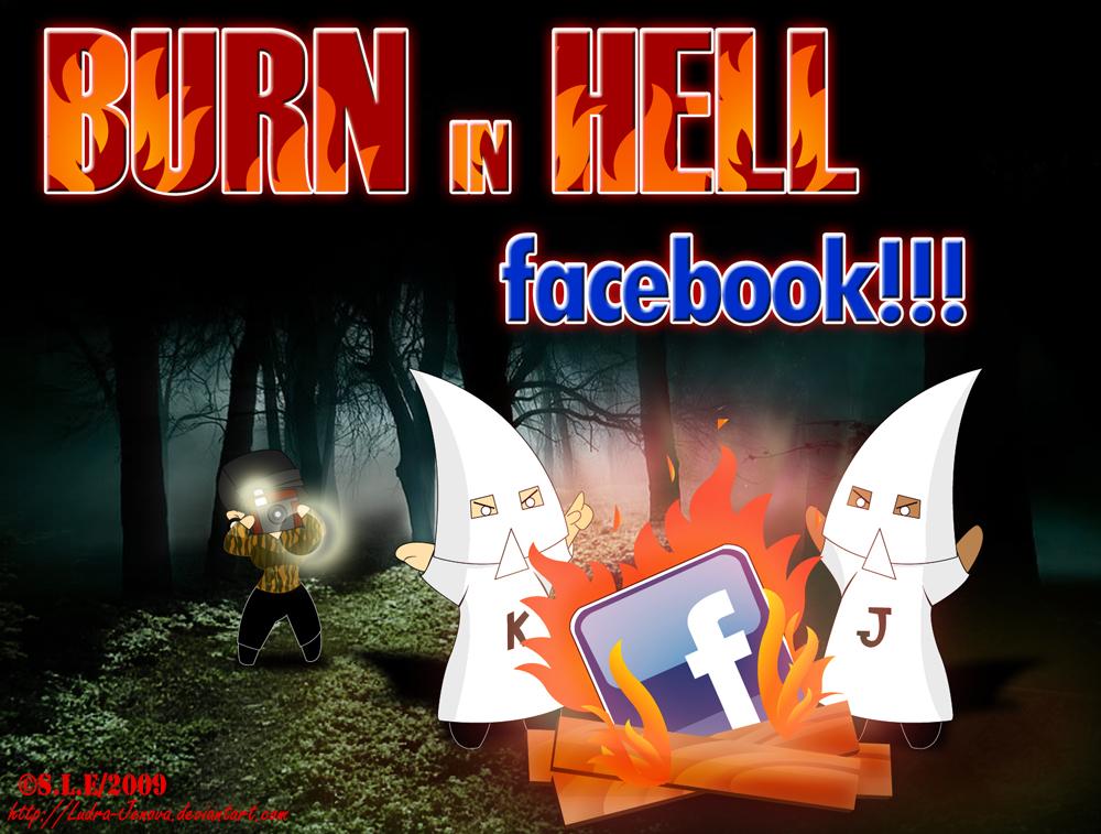 ++Burn in Hell facebook++ by Ludra-Jenova