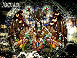 ++Xicuatl+The creator Goddess+ by Ludra-Jenova