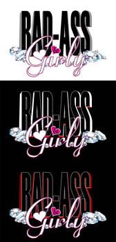 BAD-ASS n' Girly -Logo