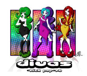 Divas-Chicks PoPART