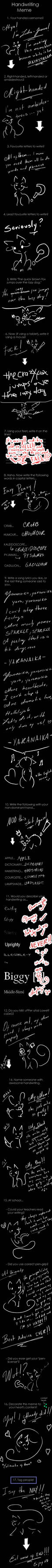 EVIL Handwriting Meme of DOOM!!