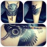 OwlKey Tattoo