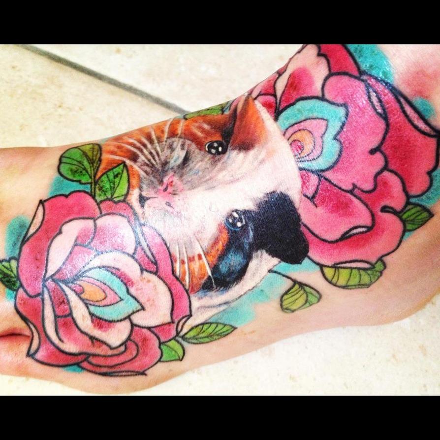 guinea pig tattoo by jackychou on deviantart