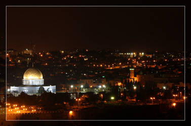 Dome of the Rock by Delusionist