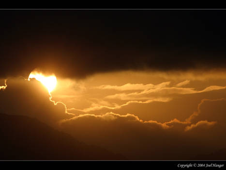 Sunrise in Eilat Israel