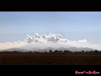 Estrella Mountains by Delusionist