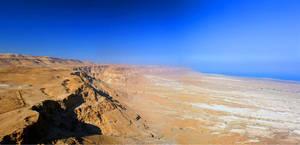 Masada - North View - Israel