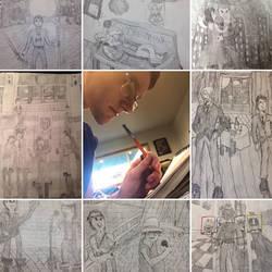 Art v.s. Artist.  by bladerunner1216