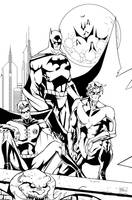Gotham Knights by DemonX01