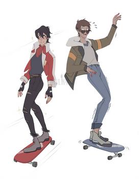 Skate boii