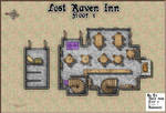 Lost Raven Inn Floor 1