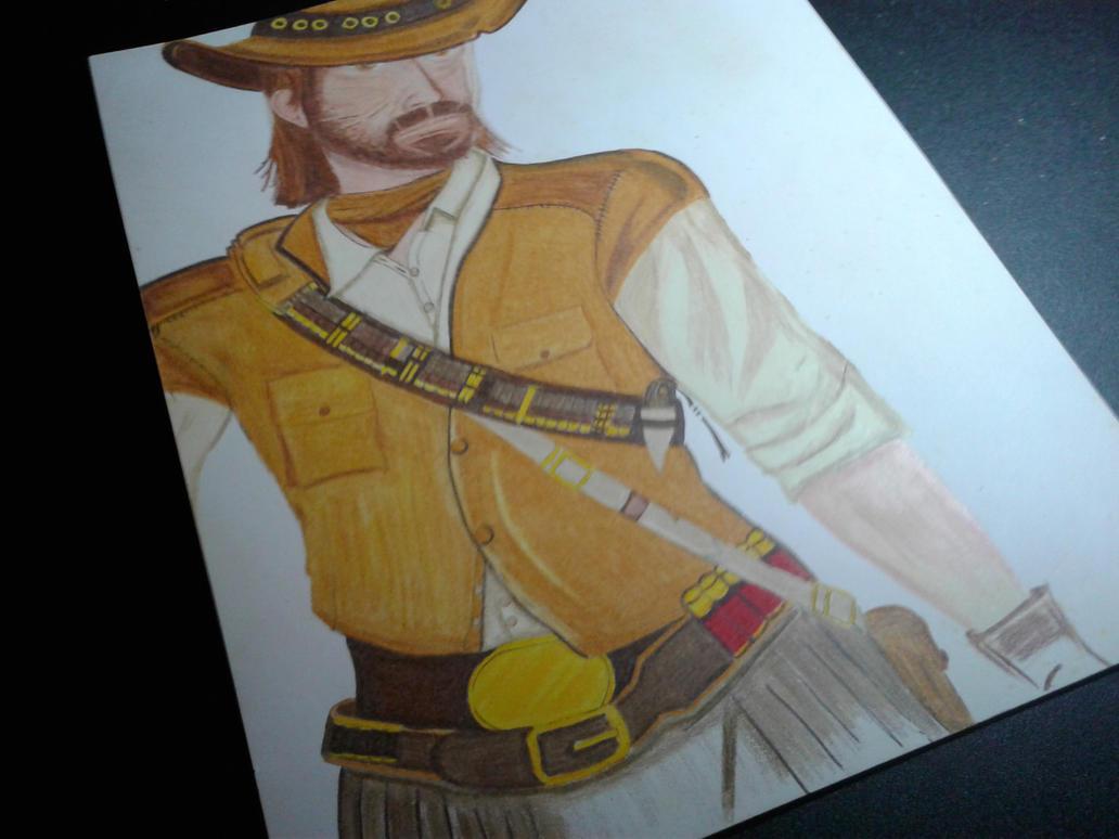 Lets draw John Marston by RicCasino