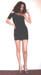 Black Dress by StilettoStudios