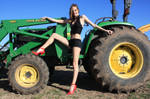 John Deere Girl by StilettoStudios