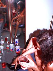 Legs and Drinks by StilettoStudios