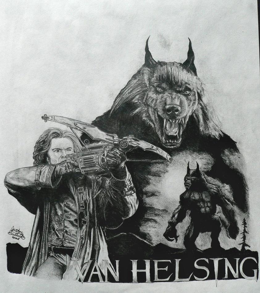 Van Helsing Collage by FreedomSparrow3Van Helsing Drawing