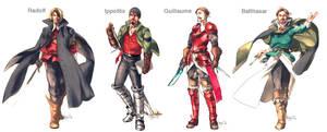 My original characters by hagios0