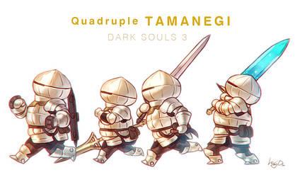 Quadruple TAMANEGI