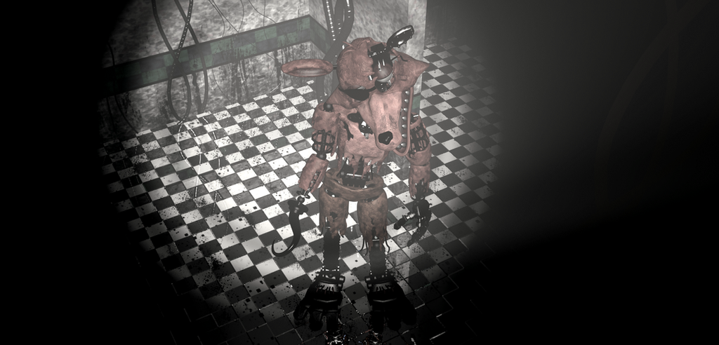 Withered foxy wallpaper fnaf2 by craftymaelyss on deviantart