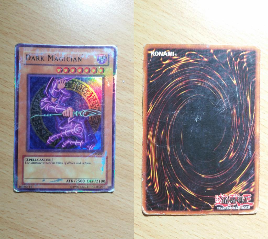 i found my old dark magician yu gi oh card by craftymaelyss on