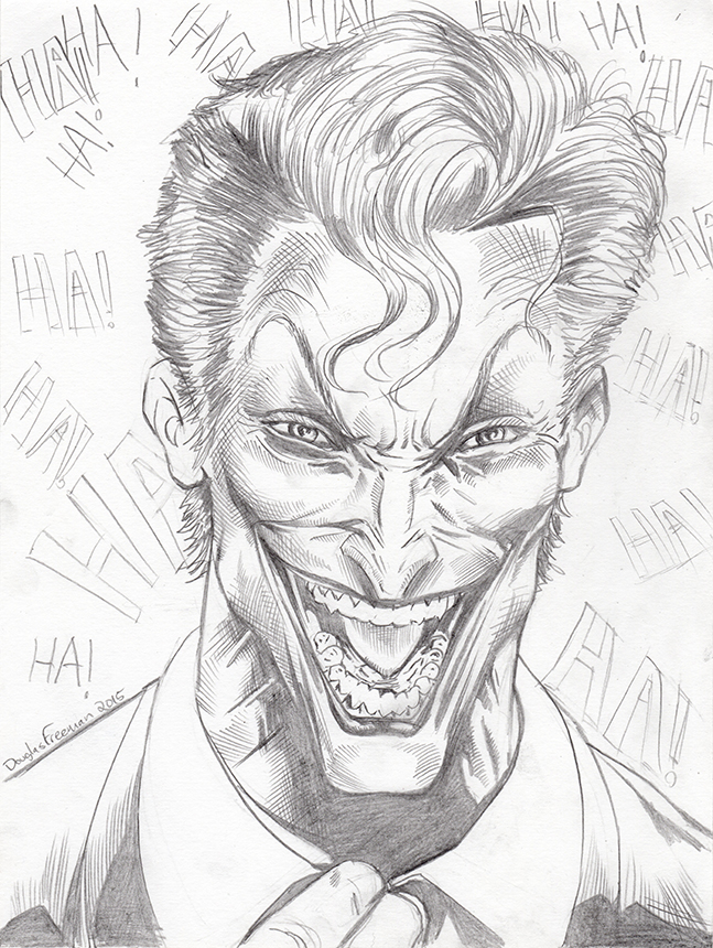 Joker sketch 2015 by RNABrandEnt