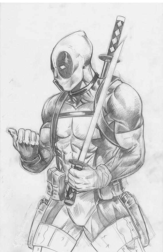 Deadpool Versus Pencils 2016 by RNABrandEnt