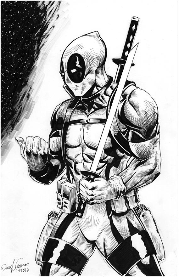 Deadpool Versus Inks 2016 by RNABrandEnt