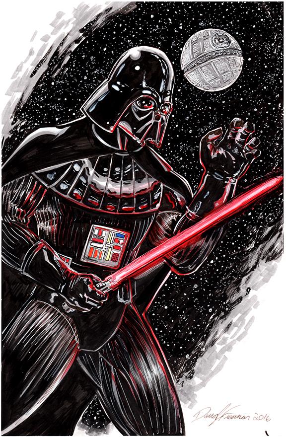 Darth Vader Versus Marker by RNABrandEnt