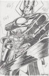 Galactus and Silver Surfer Pencils 2016