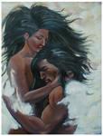 A native embrace