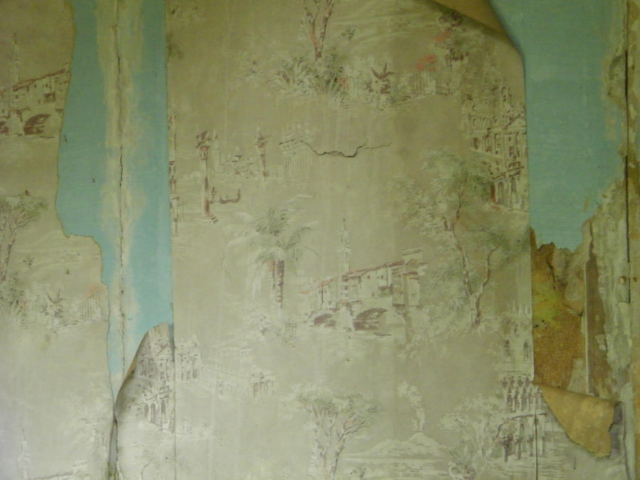 Old torn wallpaper 2 by TinkerBeIIe143 ...