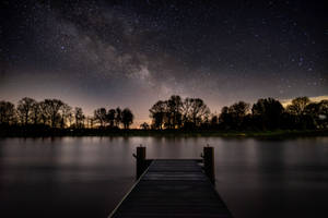 First 2020 Milky Way