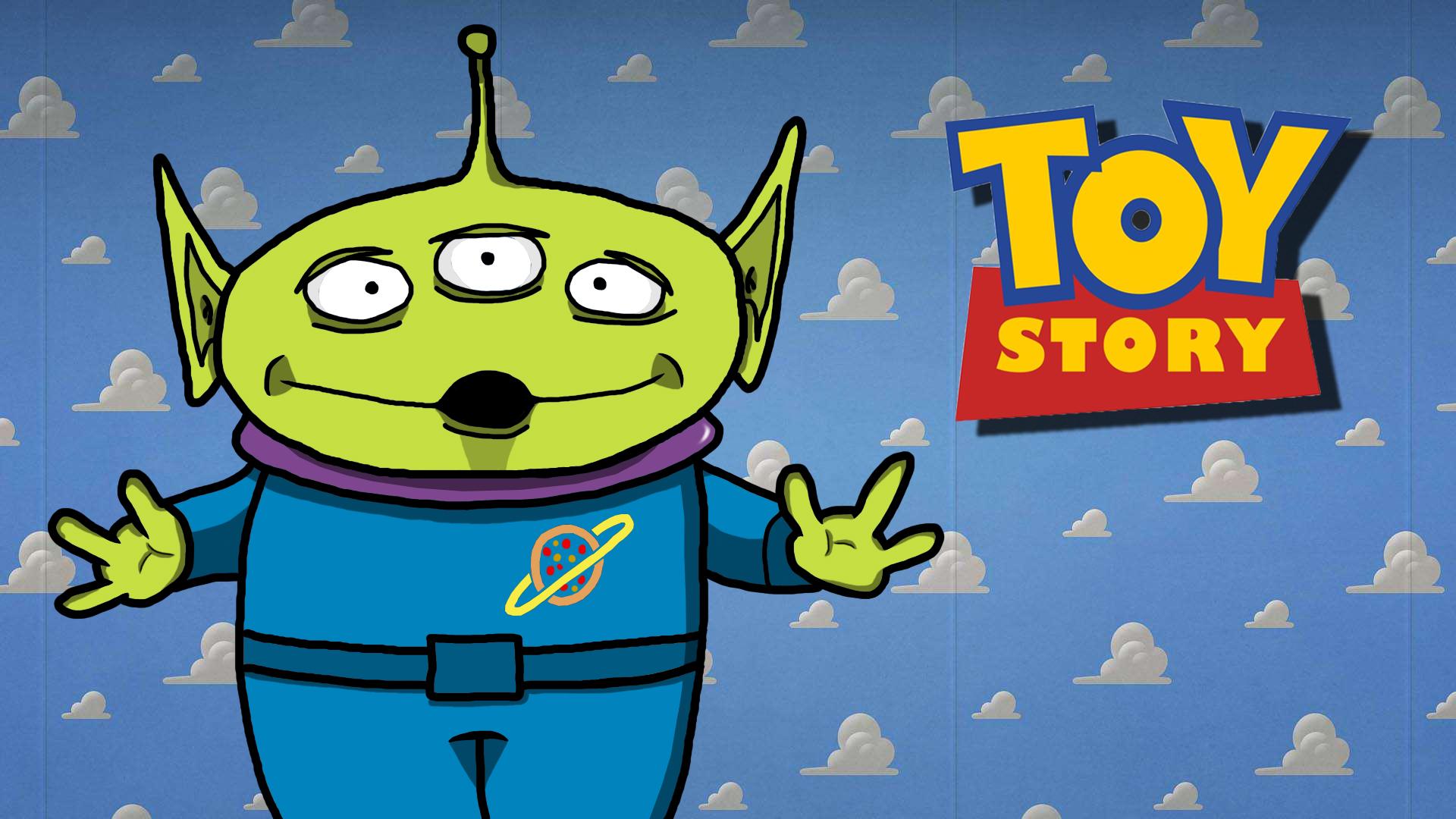 Toy Story Alien Background Fix By Pogostick47