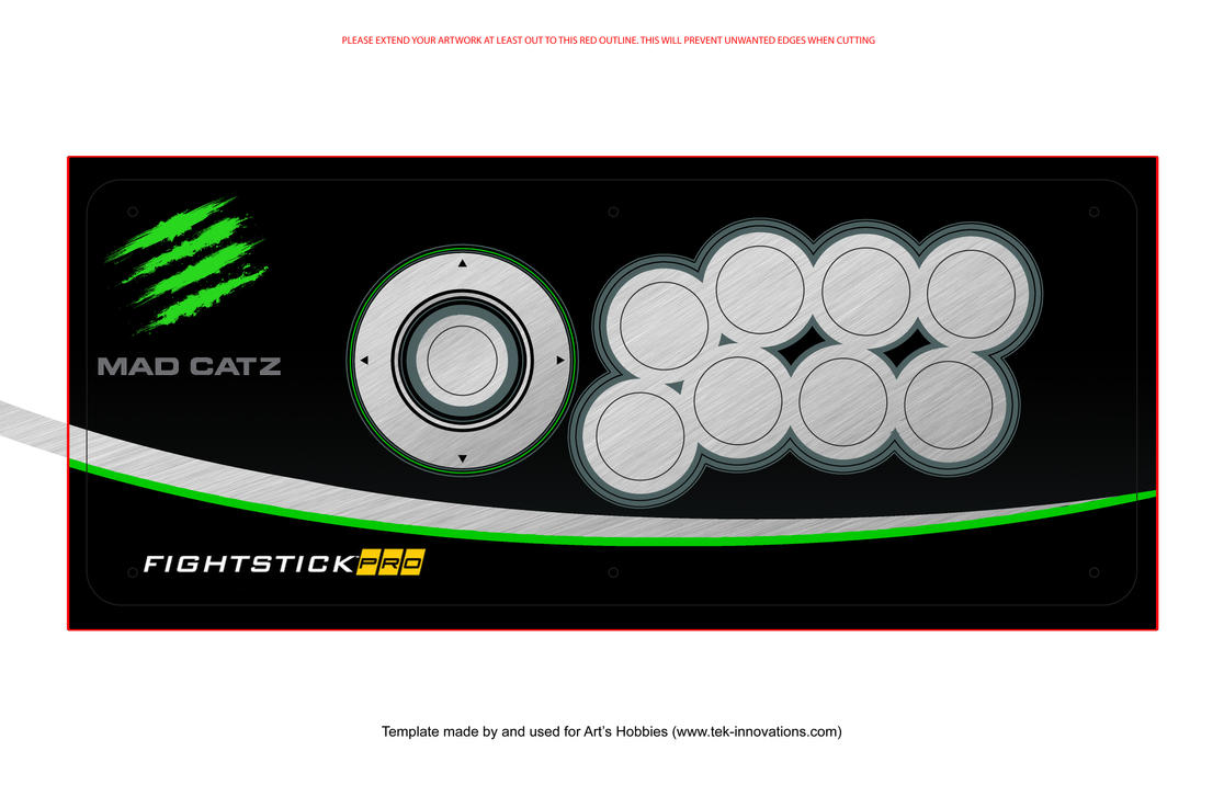 The New Official Arcade Stick Art Thread No Image Quoting