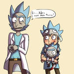 Fanboy Morty is adorable