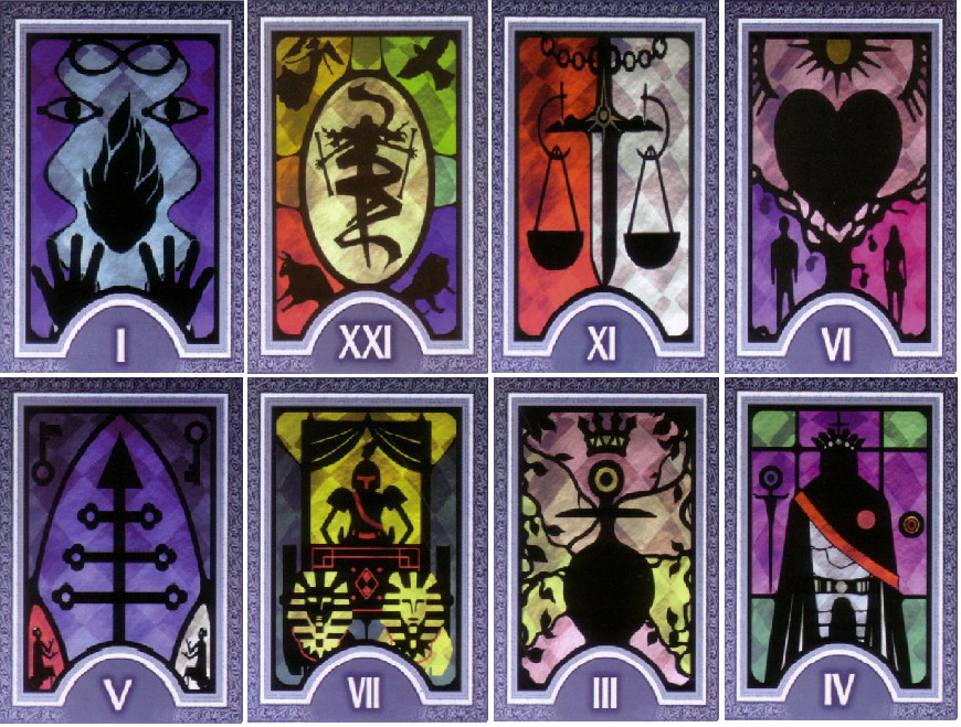 Persona 4 Tarot Card Bookmarks By Homestuck-Gurl On DeviantArt