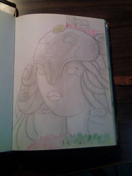 Steven Universe Temple fast drawing