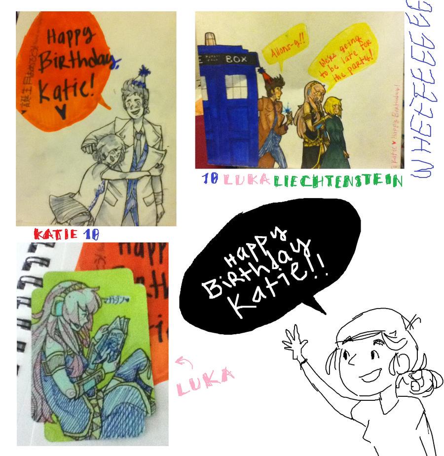 Happy Birthday, Katie! By SloaneCakes On DeviantArt