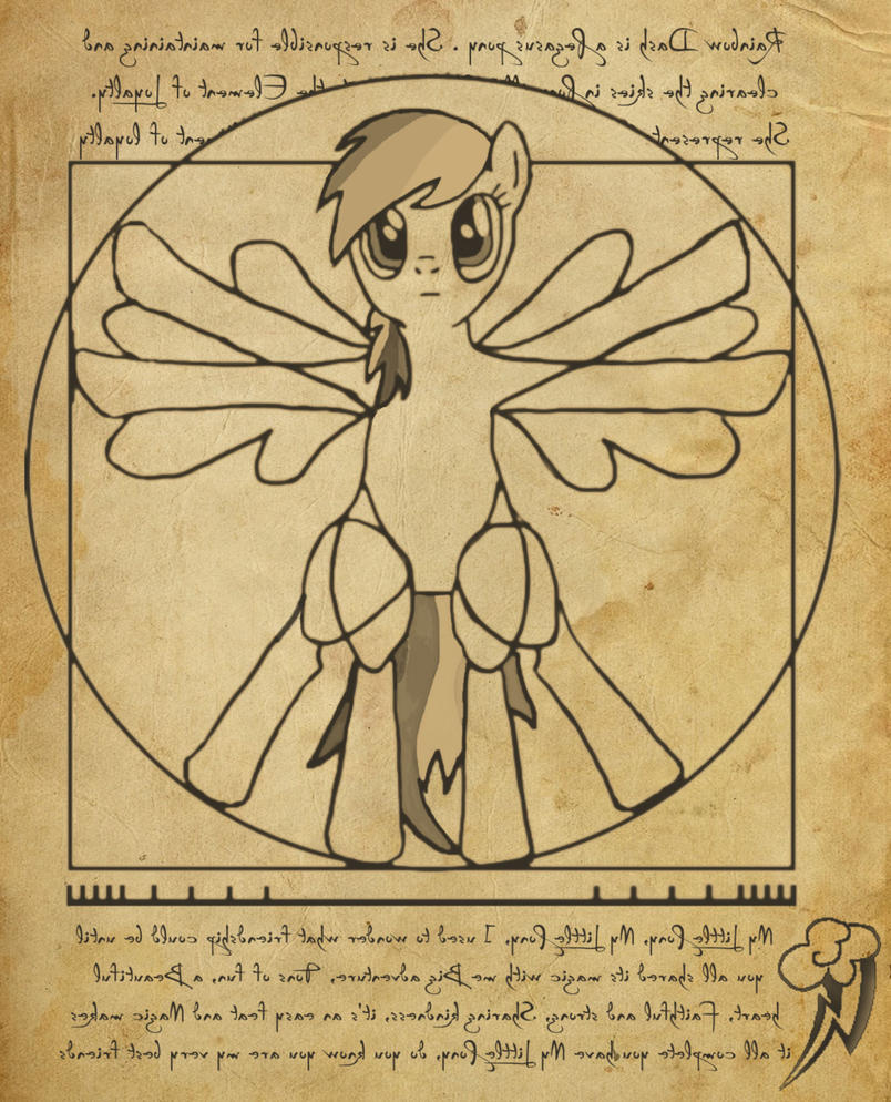 Original Vitruvian Man...