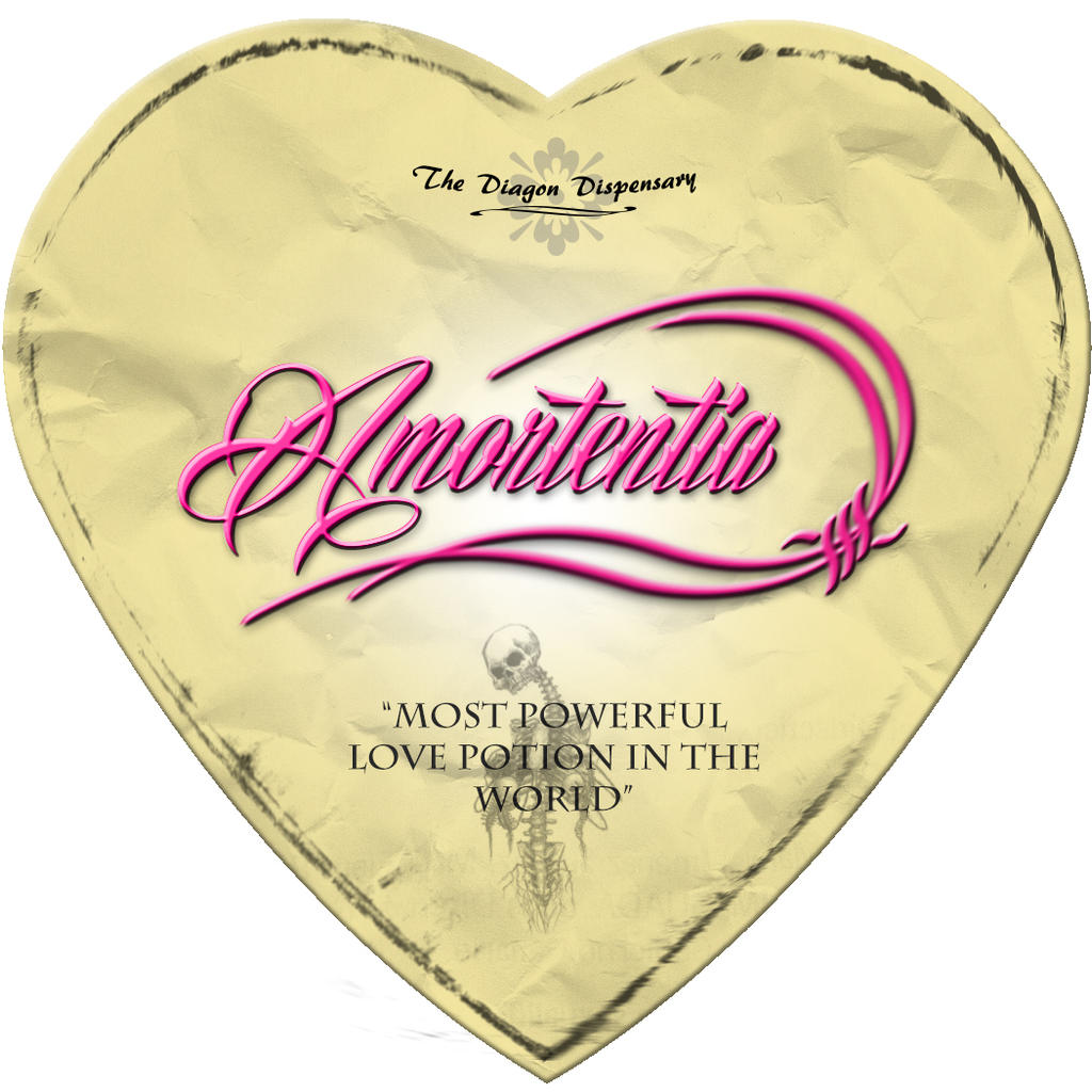 Love Potion Drink Labels: Amortentia Label By Zicue On DeviantArt