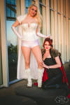 Emma Frost and Madelyne Pryor