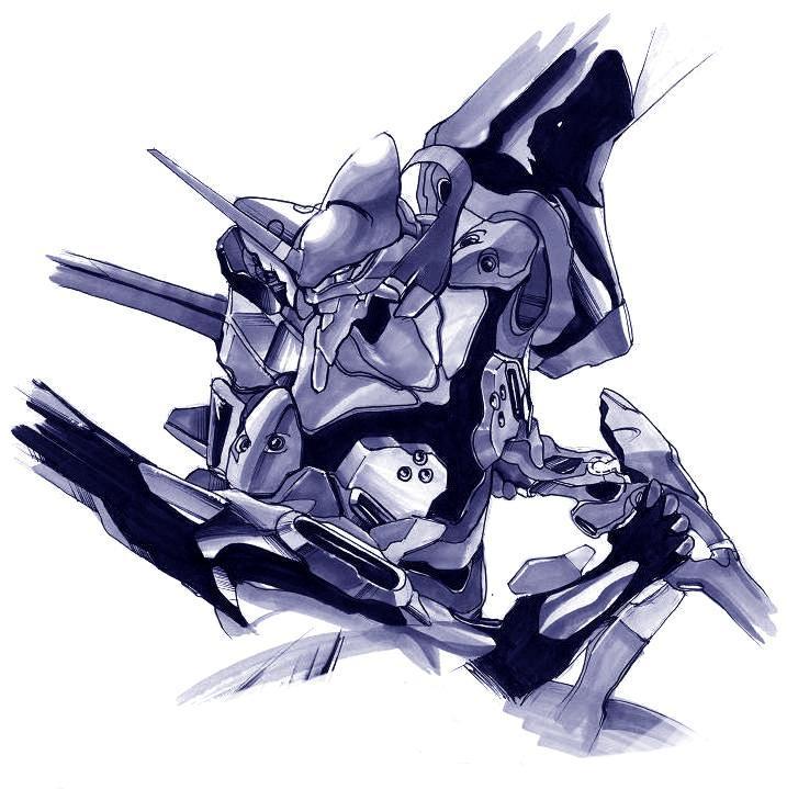 Evangelion - Unit 01 by Holyrebelion
