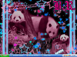 Panda Invasion by Naoko-Hirumi