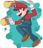{Mario} by Artfrog75