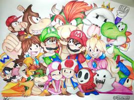 Mario by Artfrog75