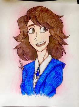 Veronica Sawyer (Walt Disney style)
