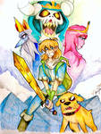 ADVENTURE TIME ! with Finn and Jake